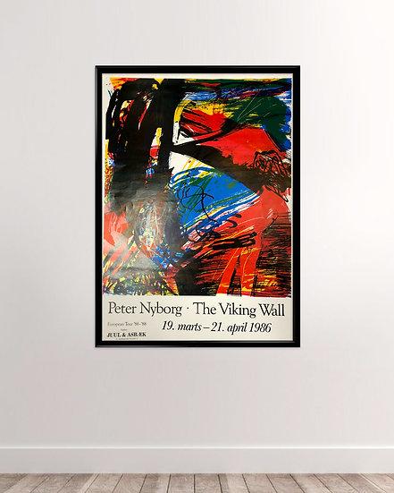 (Solgt) Peter Nyborg - The viking wall