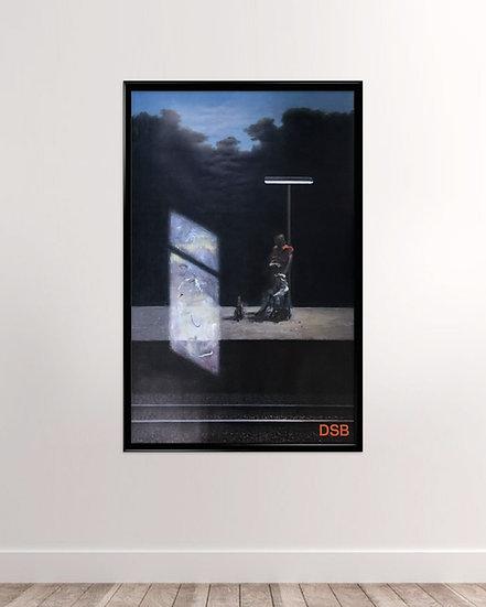 Poul Anker Bech - DSB plakat