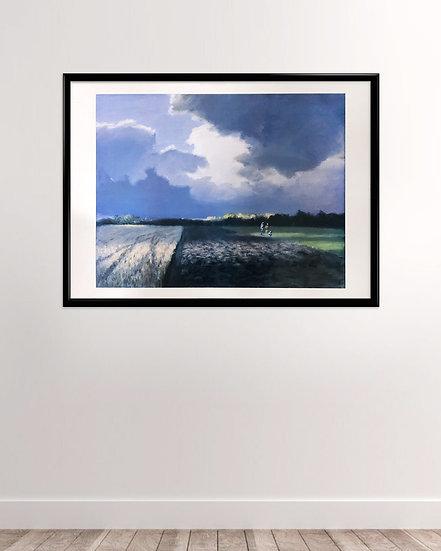Poul Anker Bech - Horizontal plakat