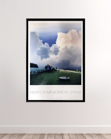 (solgt) Poul Anker Bech - Nordenfjords plakat