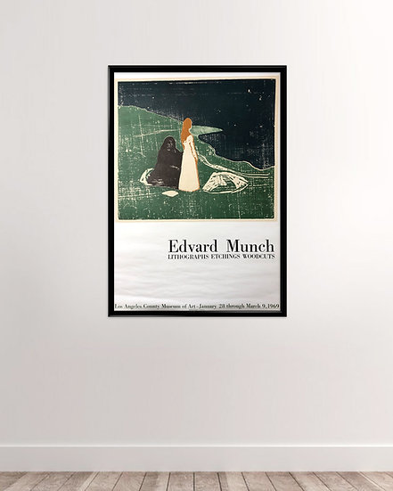 Edward Munch Original fra 1969