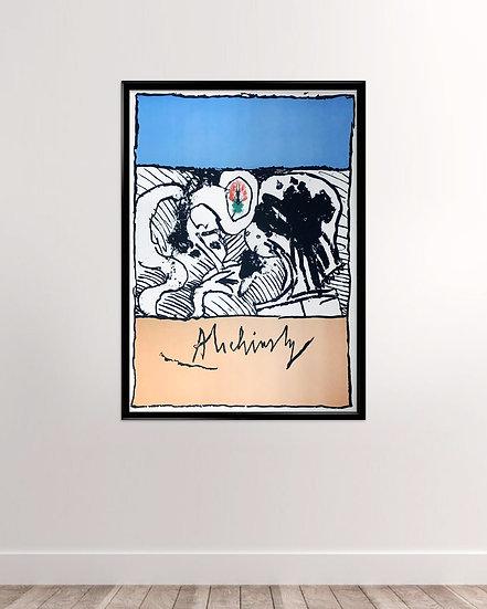 Pierre Alechinsky plakat
