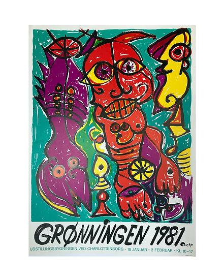 Grønningen 1981 - Carl Henning Pedersen