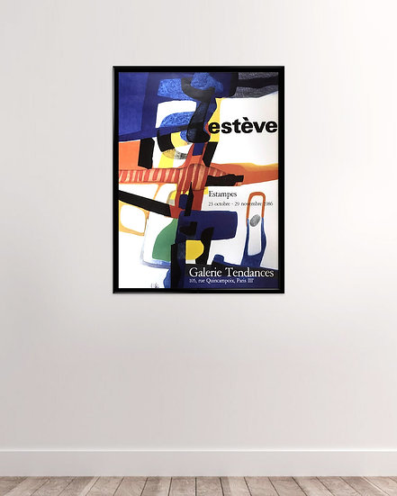 (solgt) Maurice Estève - Galerie Tendances