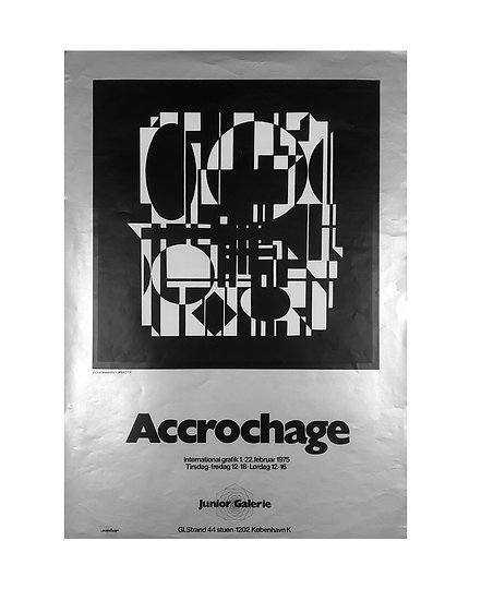 Victor Vasarely / Accrochrage