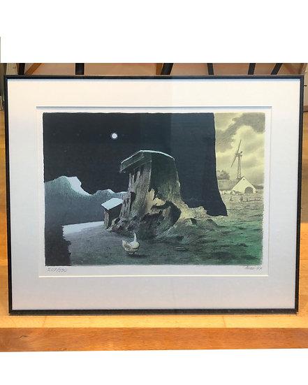 (solgt) Poul Anker Bech litografi