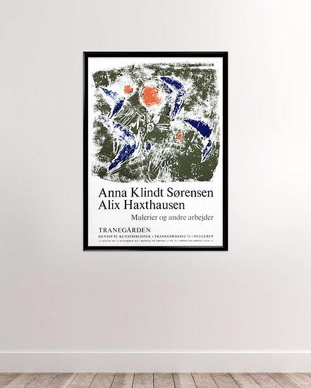 Traneudstillingen 1975 - Anna Klindt & Alex Haxthausen