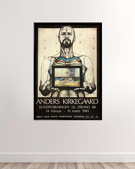 Anders Kirkegaard Selvportræt