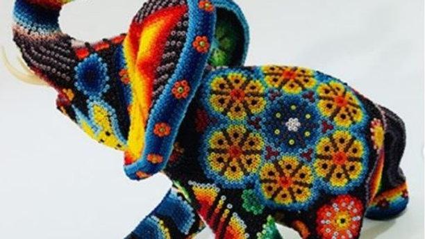 Aleya Huichol - Elefante Mediano
