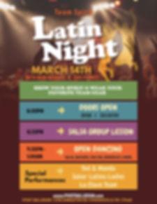 Latin Night in Phoenixville, 2208 Kimberton Rd Phoenxiville Pa 19460, Remi Rosales, Luis Flores, Latin Dancing, Salsa Dance, Bachata Dance, Merengue Dance