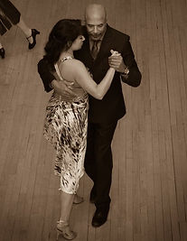 Pierre Bastion Dancing Argentine Tango Pivot Ballroom