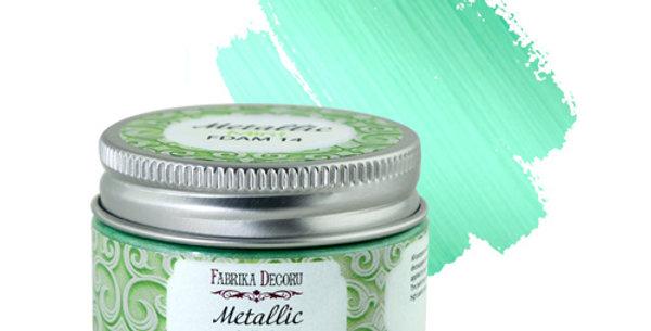 Metallic paint. Color Mint