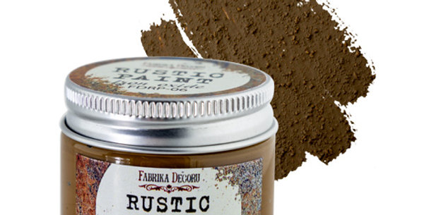 Rustic paint. Iron oxide