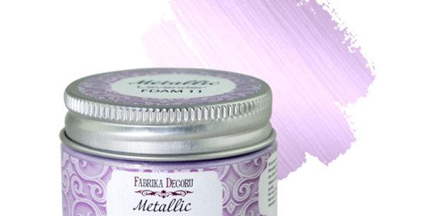 Metallic paint. Color Lavender