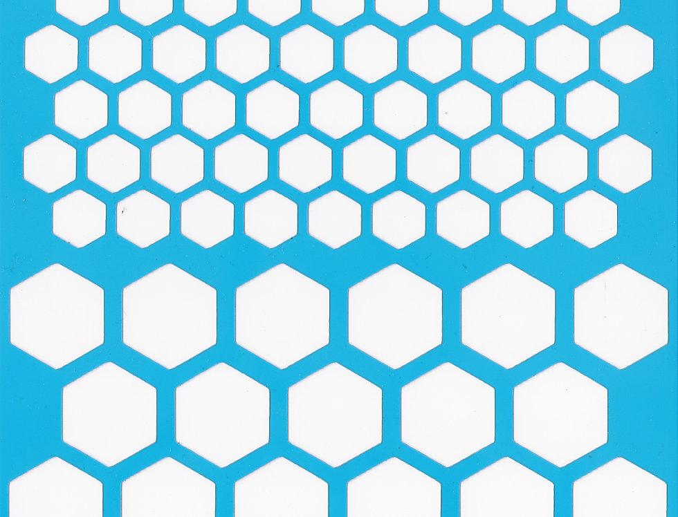 Honeycombs stencil