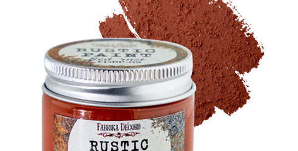 Rustic paint. Red rust