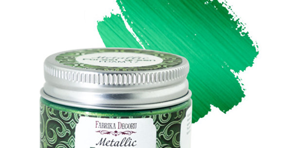 Metallic paint. Color Forest Green