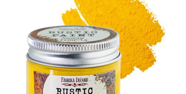Rustic paint. Sunny