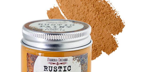 Rustic paint. Ocher