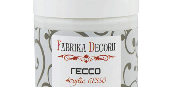 "White acrylic paste ""Gesso"""
