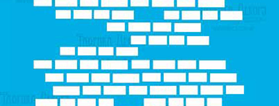 Small bricks stencil