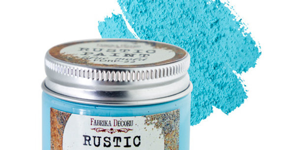 Rustic paint. Blue Mold