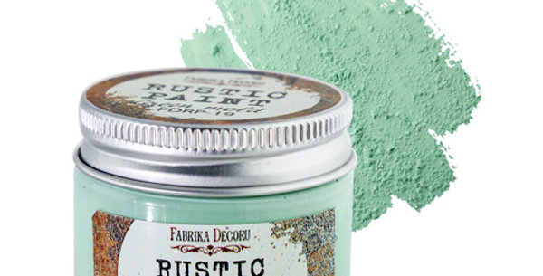 Rustic paint. Green mold