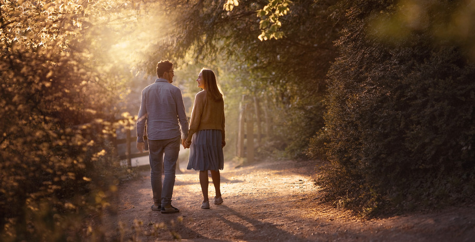 Surrey love story photography