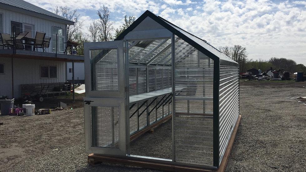 Premium 16' Assembled Greenhouse