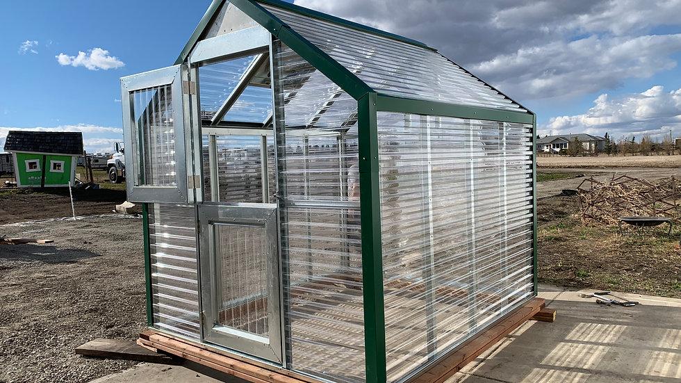 Premium 8' Assembled Greenhouse