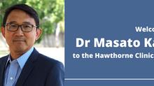 Welcome Dr Masato Kato