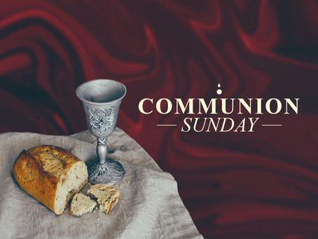 Preparations for Communion
