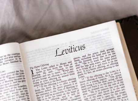 LEVITICUS: from God to the people