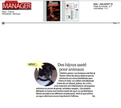Pets and Stones - Pharmacien Manager