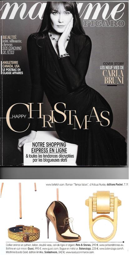 Madame Figaro - Pets and Stones