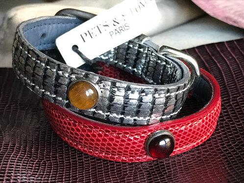 Lizard Leather Necklace