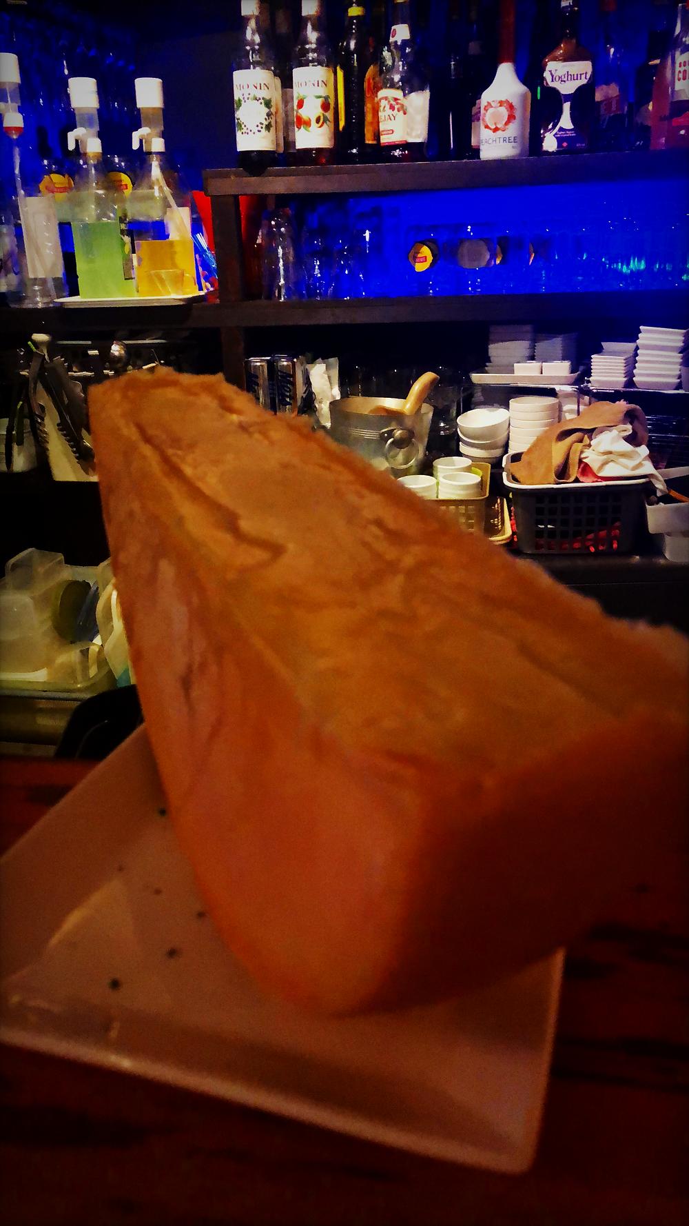 長崎 浜口 バール 明 ラクレットチーズ