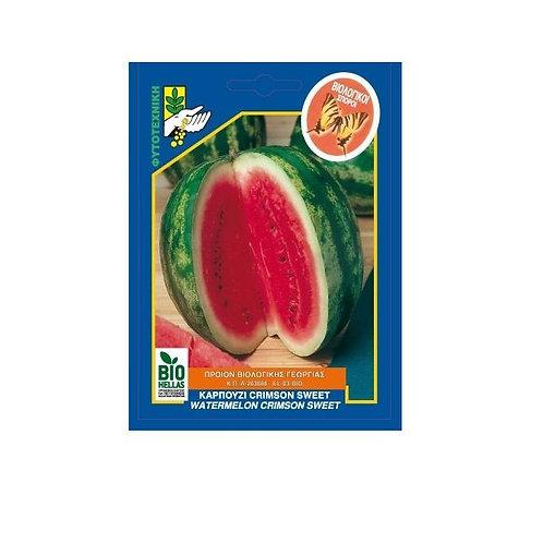 Καρπούζι Crimson Sweet Βιολογικό