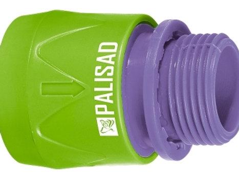 Ταχυσύνδεσμος βρύσης Palisad αρσενικό (πλαστικό) 3/4''