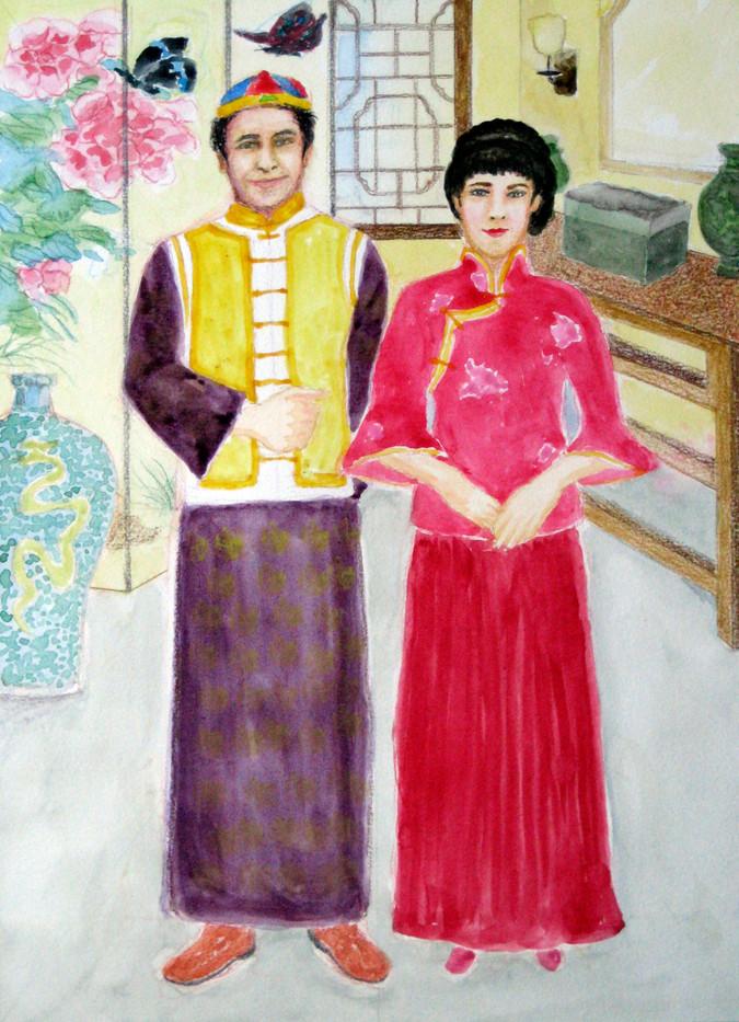 Mayee and Alfonse