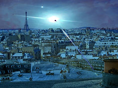 UFO in Paris night sky.jpg