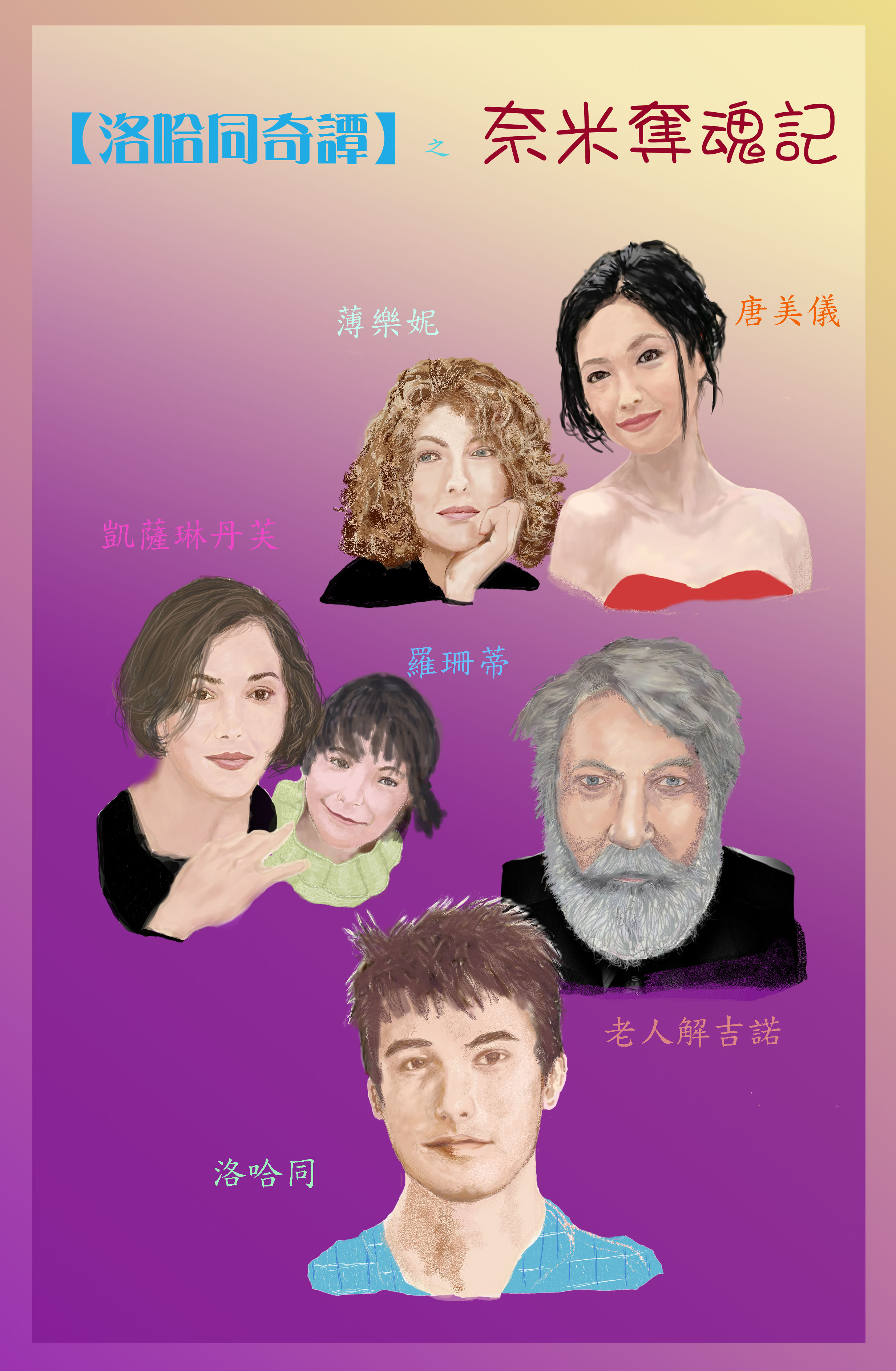 Chn Characters Poster a