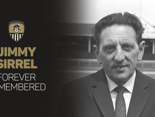 REMEMBERING JIMMY SIRREL