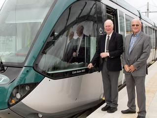 New Tram Named in Colin Slater's Honour