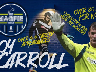 Roy Carroll: The Magpie Connection