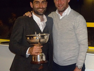 Annual Dinner and Presentation of the Notts County Achievement Award.