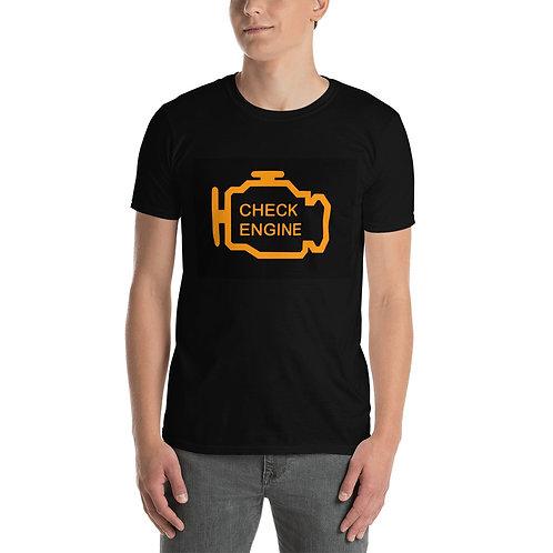 Check Engine Short-Sleeve Unisex T-Shirt