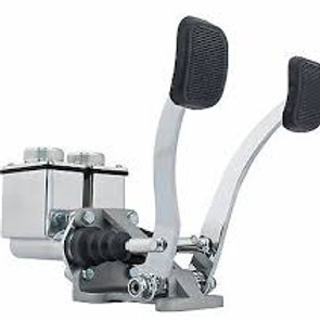 Hydraulic Dual Pedal Assembly Without Throttle Pedal.