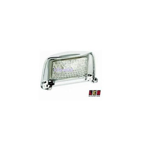 Chrome LED Auto lamps 35CLM number plate light