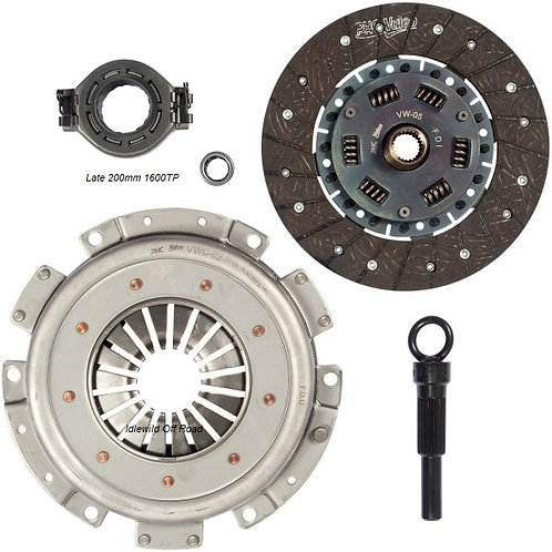 Late Bug Clutch kit 200mm without center ring 70-76 1600tp